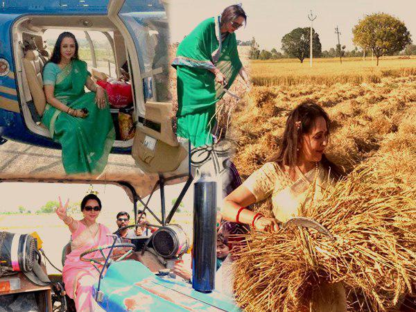 आखिरकार हेमा मालिनी के ट्रैक्टर पर लगे AC की हकीकत आ गई सामने, यह है पूरी सच्चाई…